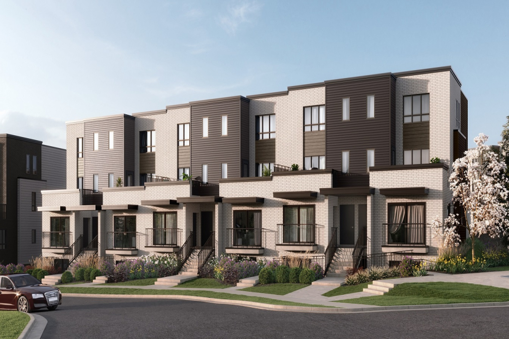 Stacked Urban Townhomes